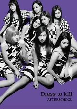 AFTERSCHOOL-DRESS TO KILL-2ND ALBUM-JAPAN CD +DVD +PHOTOBOOK Q06