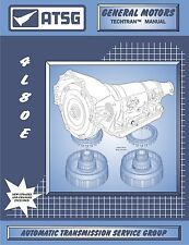 ATSG GM Chevy 4L80E 4L80-E Transmission Rebuild Tech Manual Chevrolet 34400E