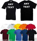 Personalised t-shirt Tshirt Hen Stag Charity Work Club Gym Printed Design Custom