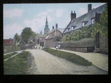 POSTCARD B41-2 LEICESTERSHIRE VIEW THRO UPPINGHAM IN THE EARLY 1900'S
