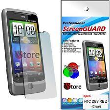 5 Pz Pellicola Per HTC Desire Z Proteggi Salva Schermo Display LCD Pellicole