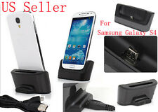 Sync Cradle Battery Dual Charger Dock Station for Samsung Galaxy S4 i9500 i9505