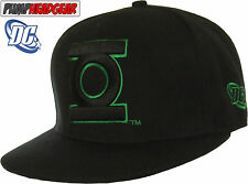 DC Comics Green Lantern Logo Outline Black Snapback Cap