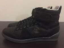 Men's Puma Rudolf Dassler Schuhfabrik Leather High-top Shoes size 9