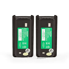 2 x KNB-29N Battery for KENWOOD ProTalk TK-2202 TK-3202 1700mAh Ni-MH 7.2V