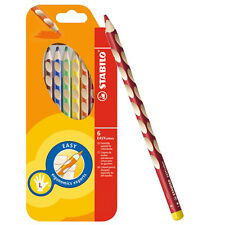 Stabilo EASY Graph EASY colors Left Handed Colouring Pencils - Pack of 6