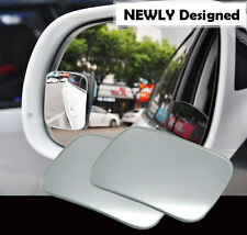 2 X 360 ° Wide Angle Convex Rear View Blind Spot Mirror For Universal Car Motor