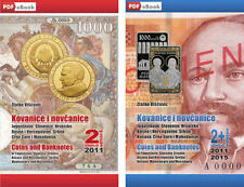 1849-2015 Coins and Banknotes Catalog of Yugoslavia Slovenia Croatia Serbia etc.