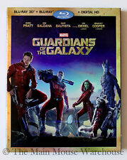 Marvel Guardians of the Galaxy 3D Blu-ray DVD Digital English French Spanish