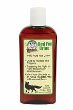 Just Scentsational - Bottle of Red Fox Urine, 4oz - Scares small animals away