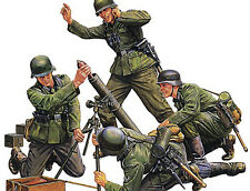 NEW Tamiya 1/35 German Infantry Mortar Team 35193