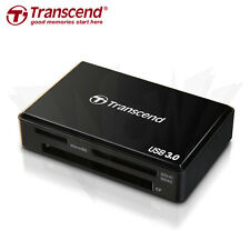 Transcend USB 3.0 Multi-Card Reader for SD/SDHC/SDXC/MS/CF Cards (TS-RDF8K)