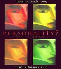What Color is Your Personality?: Red, Yellow, Green, Orange-- (Gift Bo-ExLibrary