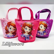 12 Pcs Princess Sofia The First Candy Bag Mini Coin Purse Disney Party Favors