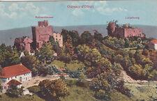 OTTROTT les deux châteaux RATHSAMHAUSEN & LÜTZELBOURG