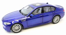 2012 BMW M5 (F10M) in San Marino Blue 1:18 Scale Diecast by Paragon 97014
