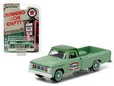 1967 DODGE D-100 TEXACO PICKUP TRUCK 1/64 DIECAST MODEL BY GREENLIGHT 41010 C