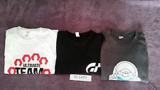 TEE SHIRT FIFA 2014 ULTIMATE TEAM PS3 + GRAN TURISMO PS3 + HALO 5 BLEU PS4