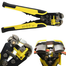 Pro Automatic Wire Striper Cutter Stripper Crimper Pliers Terminal Tool New