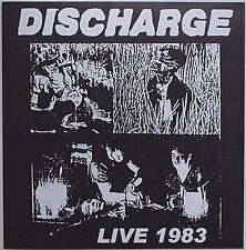 Discharge - Live 1983 LP Broken Bones Varukers Stoke-On-Trent Crust UK 82 Punk