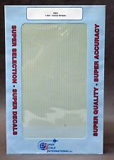 """SuperScale Decals PS-6 1/64"""" YELLOW STRIPES pin striping mint"""