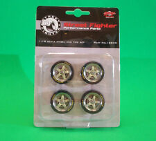 GMP Parts Department 1:18 scale Wheel & Tire Set Part No.18839 Street Fighter