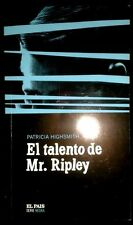 EL TALENTO DE MR. RIPLEY - Patricia Highsmith - SPAIN LIBRO / BOOK - Como Nuevo