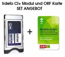 ORF Eycos Irdeto CI+ Modul  LED LCD TVs mit der ORF Karte HD NEU