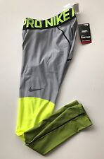 NEW Nike Pro Combat Dri-Fit Hyperwarm 'lines' Compression Tights SIZE Small