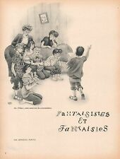▬► CLIPPING Fantaisistes et fantaisies Léon-Paul Fargue Dessins Dubout 5 pages