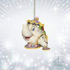Mrs Potts & Chip  Schöne & Biest  Jim Shore Disney Traditions Ornament  A21431