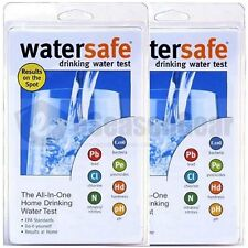 2x WaterSafe WS-425B City Drinking Water Test Kit, Bacteria Lead Pesticides pH