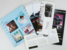 HASSELBLAD INFO PAMPHLETS AND BROCHURES, LOT OF 5