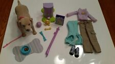 Mattel Barbie Tanner the dog w/ accessories and outfit clothes pooping dog 2006