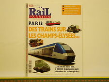 Revue RAIL PASSION 070 - Lorraine - Train Capitale - Athus-Meuse - Trams Anvers