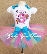 Bubble Guppies Girls Mulicolored Birthday Tutu Outfit Dress Set