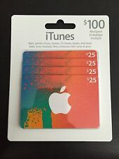 iTunes Card $100 total value. US Account only.