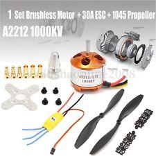 A2212 1000KV Brushless Moteur 30A Brushless ESC 2X 1045 Hélice pour DJI F450 550