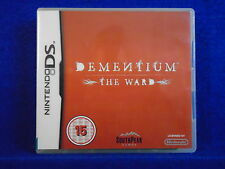 *ds DEMENTIUM The Ward (no manual) Survival Horror Game Lite DSi 3DS PAL ENGLISH