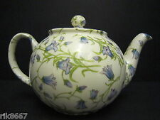 1 Heron Cross Pottery Harebell Chintz English 3 Cup Tea Pot or 2 mugs