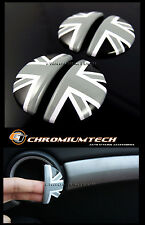 2011+ BMW Mini R60 Countryman BK UNION JACK Aluminum Interior Door Handle Cover