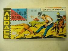 """IL PICCOLO RANGER- STRISCIA nr 101 """"Una strana famiglia"""" -Ed Bonelli 1968 A2"""