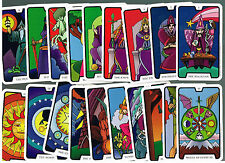 """CARING PSYCHIC FAMILY TAROT CARD FULL DECK - 22 COLORFUL 4"""" BY 2 1/2"""" CARDS NICE"""