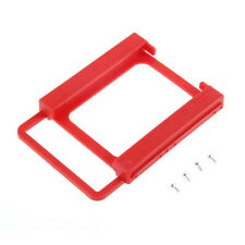 2.5 to 3.5 SSD HDD Notebook Hard Disk Drive Mounting Bracket Adapter Holder LS