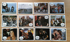 HELLS ANGELS ON WHEELS 12 German Lobby Cards 1968 Harley Chopper Sonny Barger