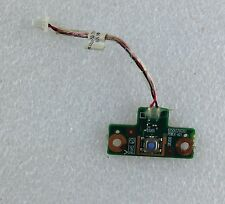 TOSHIBA SATELLITE L300 20D PSLB8E Power button board + cable ribbon Genuine