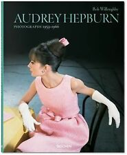 BOB WILLOUGHBY. AUDREY HEPBURN. PHOTOGRAPHS 1953?1966 -  (HARDCOVER) NEW