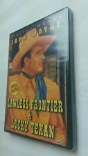 The Lawless Frontier/The Lucky Texan (DVD, 2004)