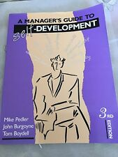 A Manager's Guide To Self Development  3rd Edition Skill Book.