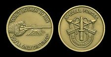 Challenge Coin - US Army Special Forces Sniper (bronze)